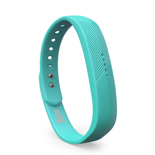 Fitbit Flex 2 Bands - Teal, Small and Large Sizes.