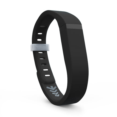 Fitbit Flex Bands - Black, Small and Large Sizes.