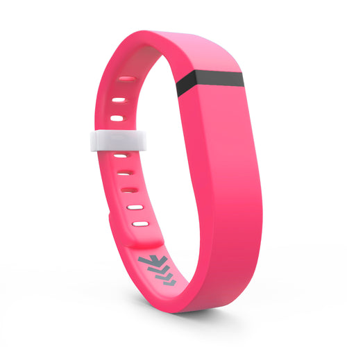 Fitbit Flex Bands - Pink, Small and Large Sizes.
