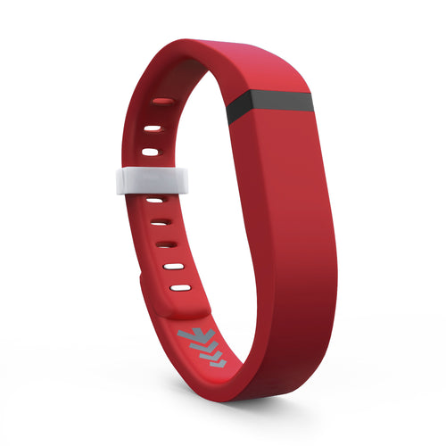 Fitbit Flex Bands - Red, Small and Large Sizes.