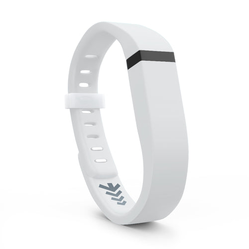 Fitbit Flex Bands - White, Small and Large Sizes.