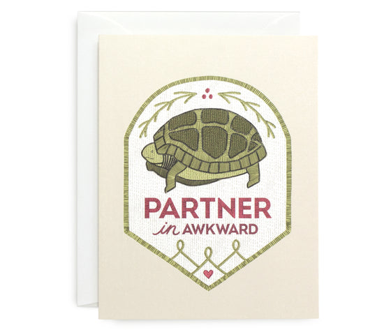 Awkward Turtle Card