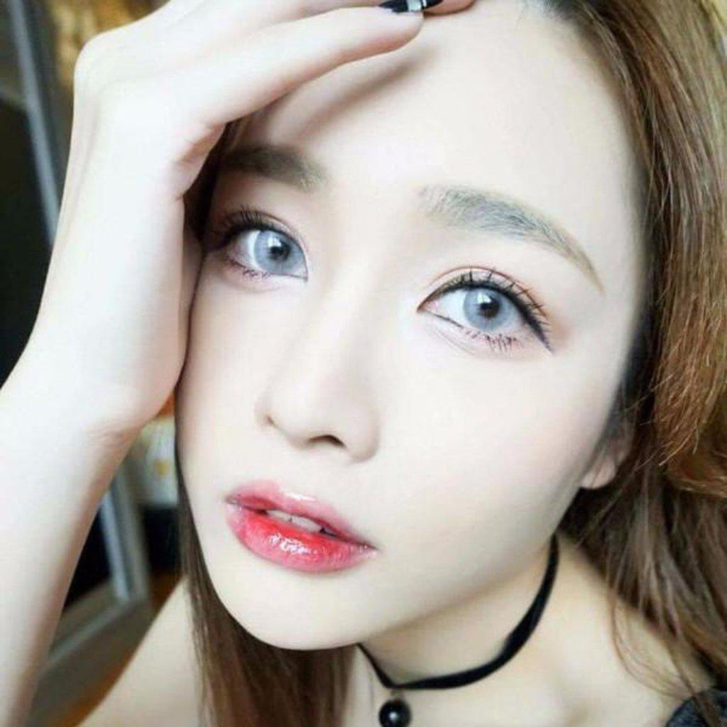 Amaze.i GREY 14mm Contact Lens Malaysia Online Murah- Barbie Eyesland