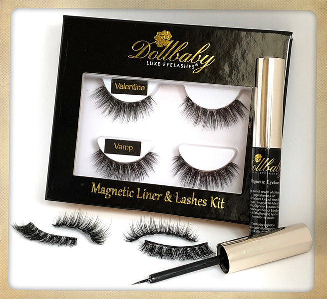 No Glue Lashes! Magentic Eyeliner & Lashes Kit As Seen on ITV This Morning & Cosmopolitan