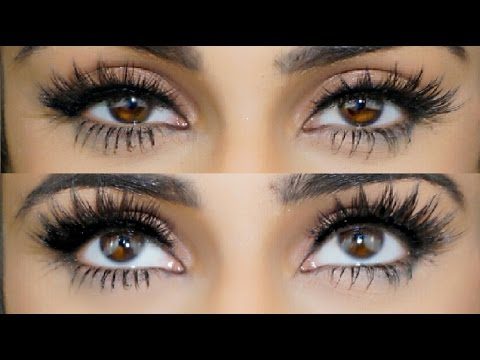 How to Apply and How to Remove False Eyelashes For Beginners Video