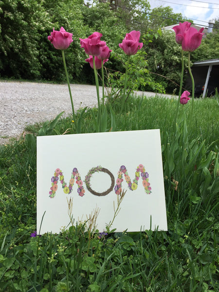 MOM Foam Board Print