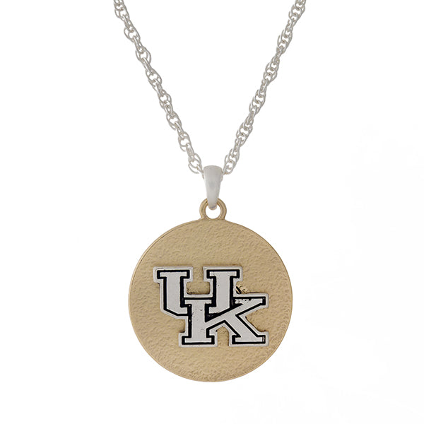 UK Dangly Gold Necklace