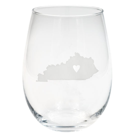 Kentucky Wine Glass Set