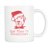 God Bless Us Dog Mug - The Fugly Mug Company