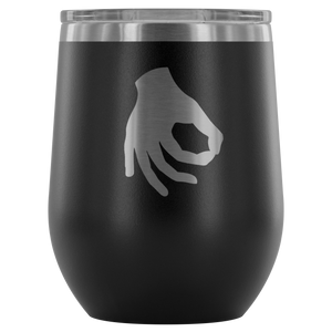 Circle Game Wine Tumbler - The Fugly Mug Company