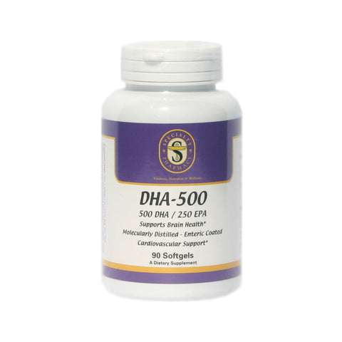 DHA-500 Omega 3 Fish Oil