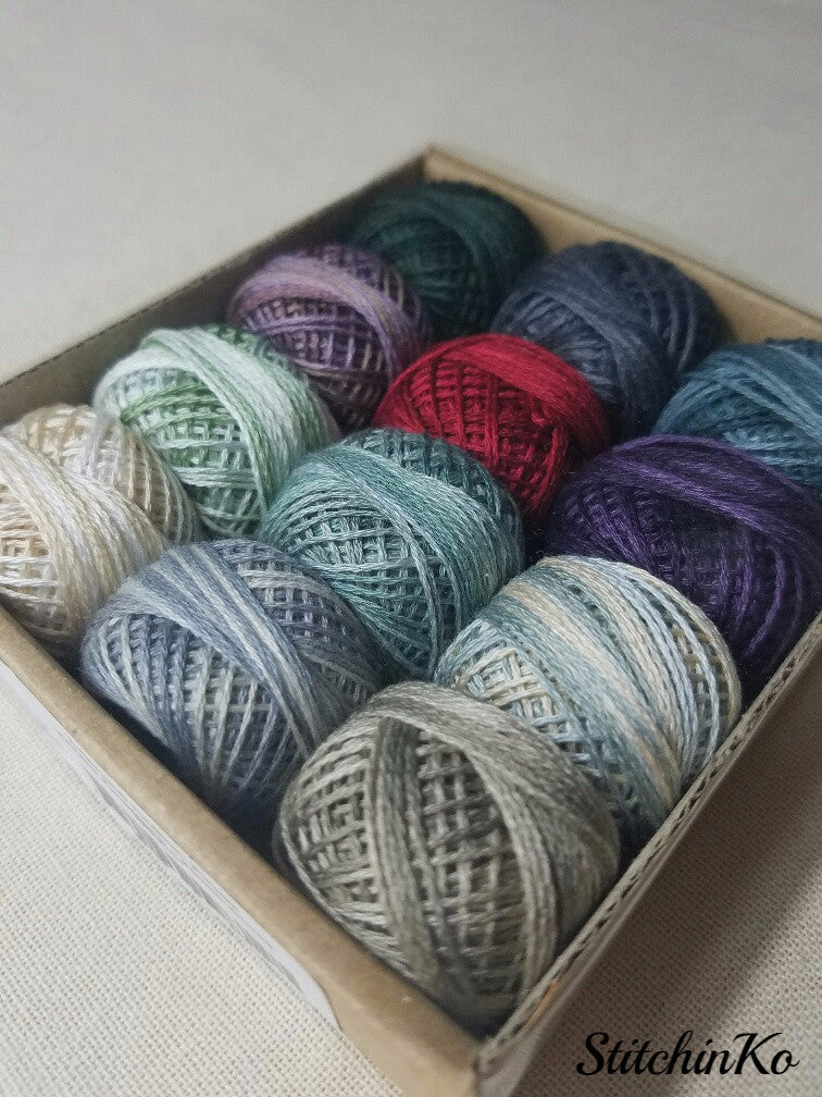 Valdani Thread Pack For Rosewood Manor's Winter Quakers