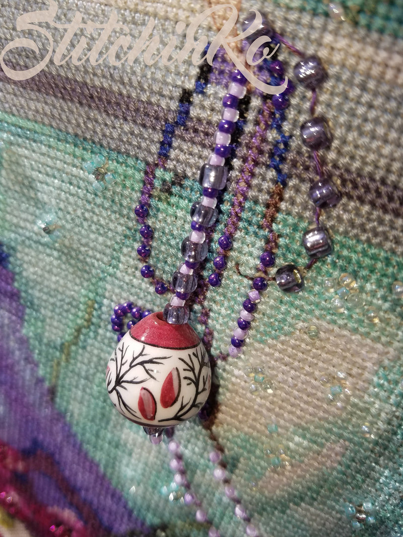 Fuseruola Bead for Wherefore Art Thou Series ~ Casa Cenina