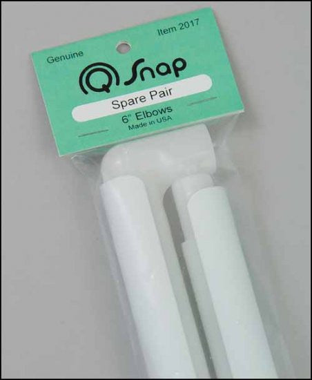 "Q Snap Extra set of elbows for 6""  frame"