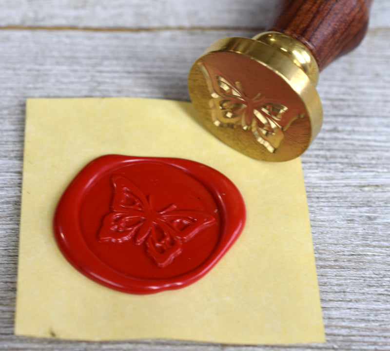 butterfly design wax seal stamp