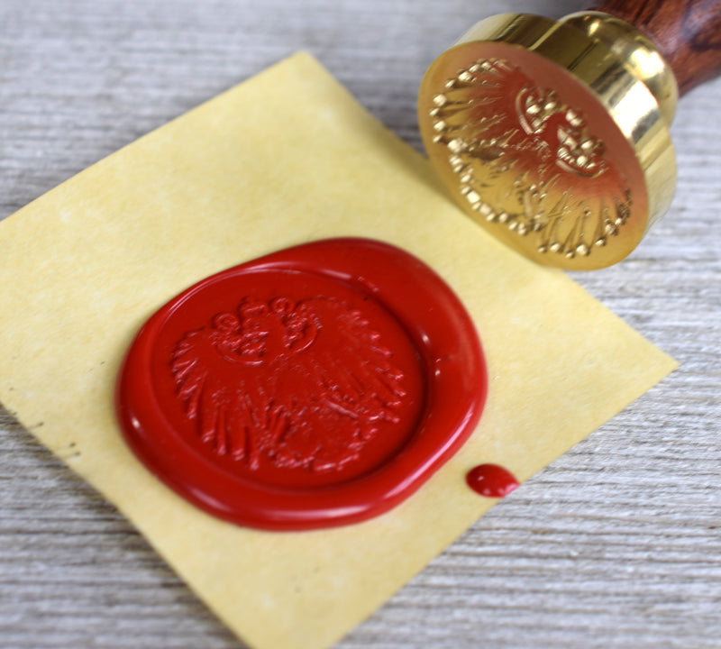 eagle sealing wax stamp