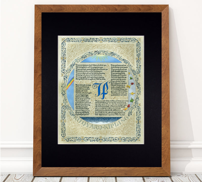 rudyard kipling if poem art print