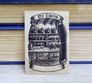 Vintage Apothecary Shop Book Plates: Set of 24 Ex Libris Self-Adhesive Labels