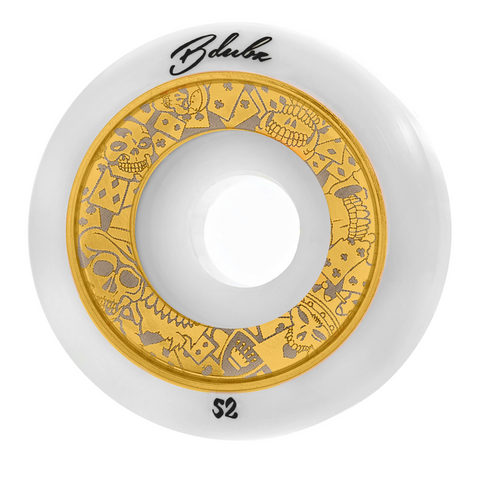 GAMBLERS - WHT/GOLD