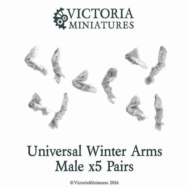 Universal Winter Rifle Arms (Male)