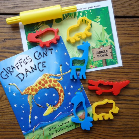 """Giraffes Can't Dance"" Playdough Book Kit"