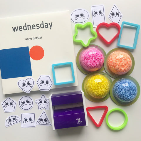 Wednesday Shapes Book Kit