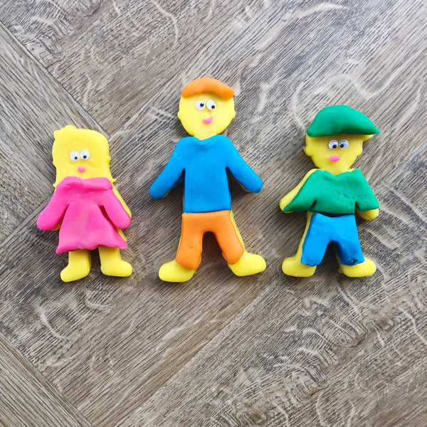 People Playdough Cutters