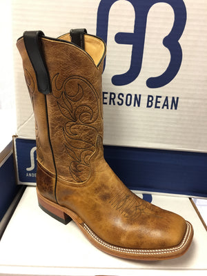"Anderson Bean ""Grizzly Bear"" 11"" Wide Square toe"