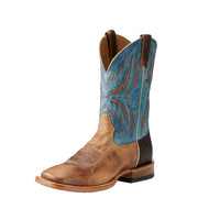 "Ariat 10021679 Arena Rebound 11"" Dusted Wheat Wide Square Toe"