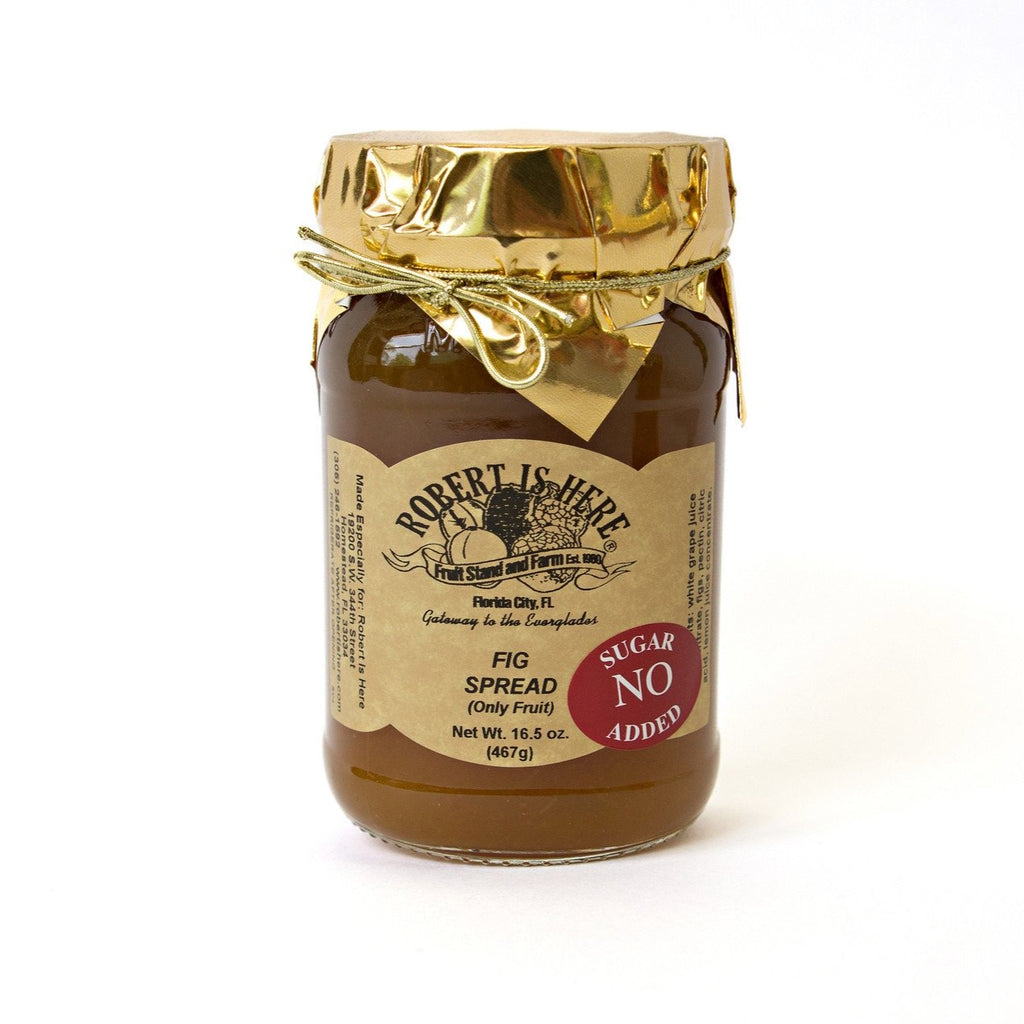 No Sugar Added Fig Jam