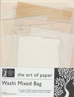 Washi Mixed Bag 8.5x11""