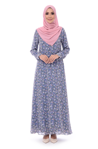 Dress D'Yana Keyla - DRS00016 - Blue
