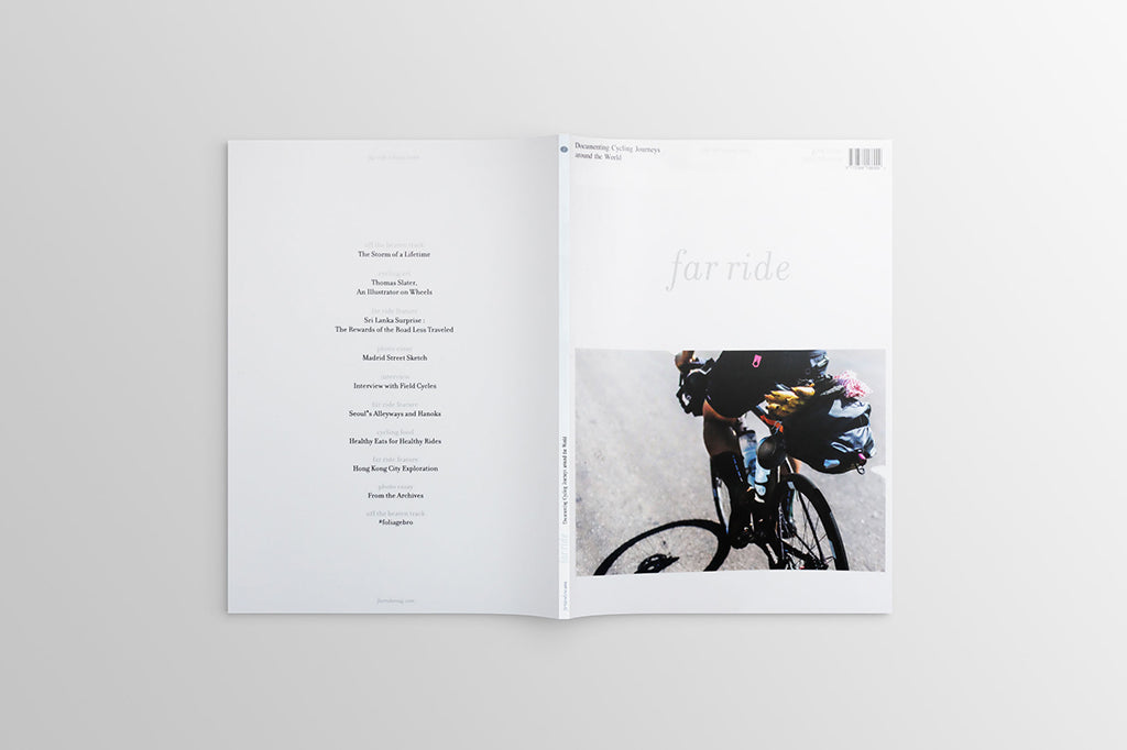 FAR RIDE MAGAZINE | allow the road ahead to guide your way