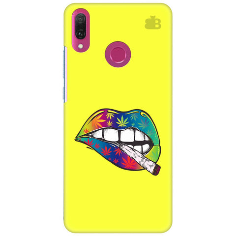 Trippy Lips Huawei Y9 2018 Cover