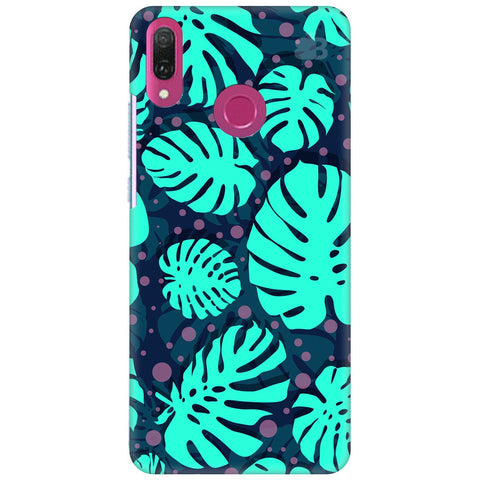 Tropical Leaves Pattern Huawei Y9 2018 Cover