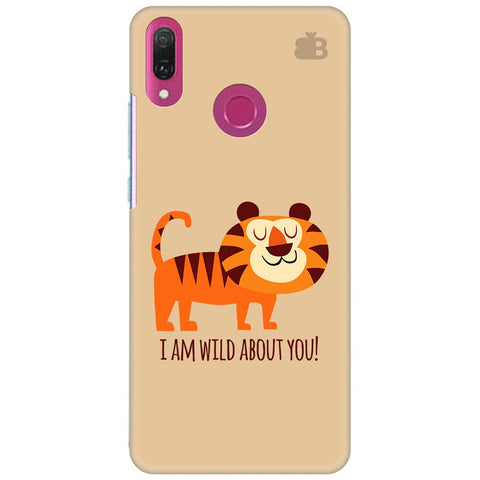 Wild About You Huawei Y9 2018 Cover