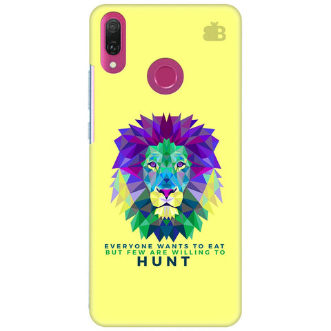 Willing to Hunt Huawei Y9 2018 Cover