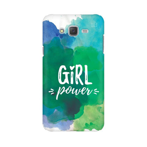 Girl Power Samsung J3 Phone Cover