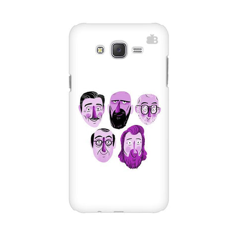 5 Bearded Faces Samsung J5 2016 Cover