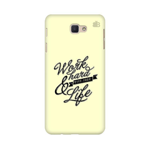 Work Hard Samsung J5 Prime Cover