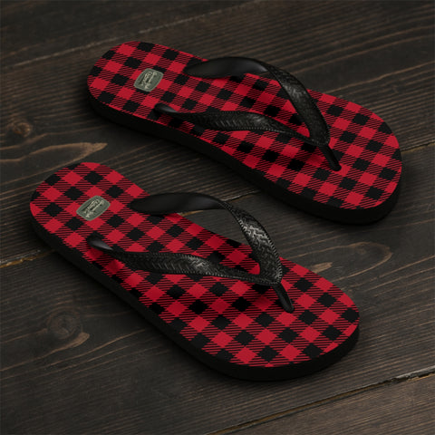 PLAID TO MEET YOU - Flip-Flops