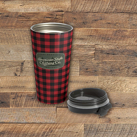 ASCC - Stainless Steel Travel Mug 15oz. - American Style Clothing Company