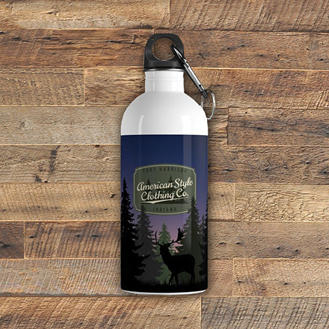ASCC - Stainless Steel Water Bottle - American Style Clothing Company