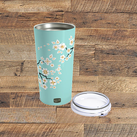 CHERRY BLOSSOMS - Tumbler 20oz - American Style Clothing Company