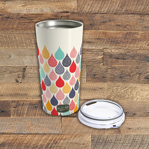 COLORFUL DROPS - Tumbler 20oz - American Style Clothing Company