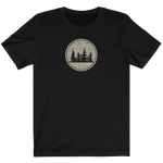 DISTRESSED TREES - Jersey Short Sleeve Tee - American Style Clothing Company