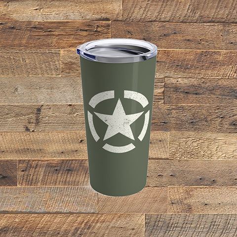 DISTRESSED STARS - Tumbler 20oz - American Style Clothing Company