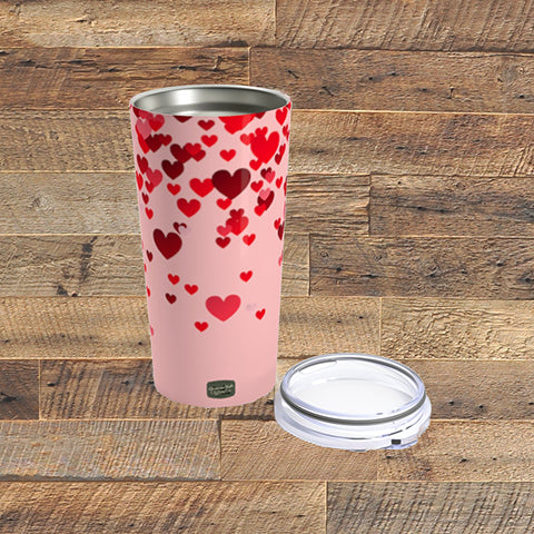 FALLING HEARTS - Tumbler 20oz - American Style Clothing Company