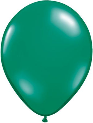 "11"" Emerald Green Solid latex balloon"
