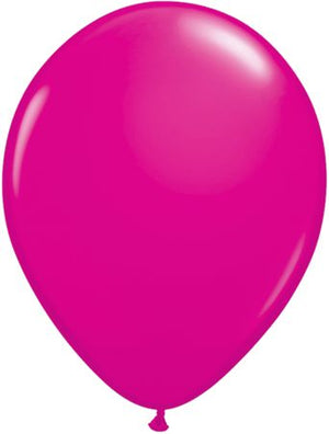"11"" Wild Berry Latex Balloon"